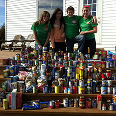 Second Annual Food Drive - 2012