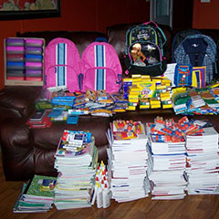 Second Annual Shelby Shines On School Supply Drive - 2012