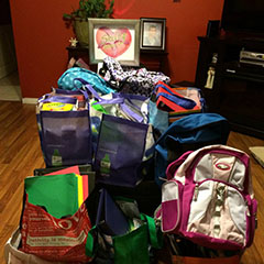 Fourth Annual Shelby Shines On School Supply Drive - 2014